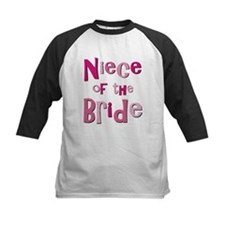 Niece of the Bride Wedding Tee