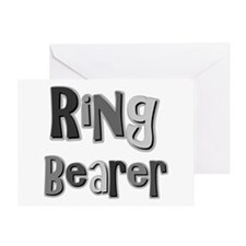 Ring Bearer Wedding Party Greeting Card