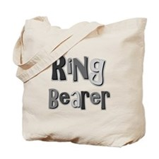 Ring Bearer Wedding Party Tote Bag