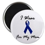 I Wear Blue For My Mom 1 2.25&quot; Magnet (10 pack)