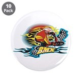 "Tribal BMX 3.5"" Button (10 pack)"