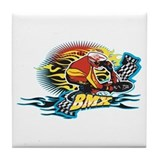 Tribal BMX Tile Coaster