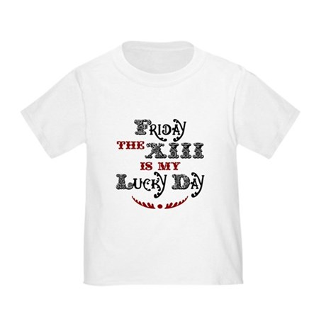 Friday the 13th Toddler T-Shirt