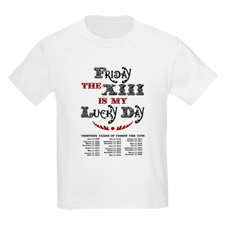 Friday the 13th Kids Light T-Shirt