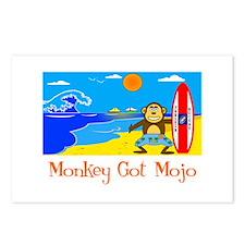 Monkey Got Mojo Postcards (Package of 8)