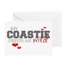 Coastie Drives me Wild Greeting Card