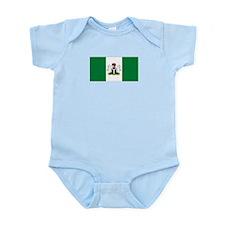 Nigerian Flag Infant Creeper