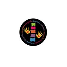 Chiro Hands & Spine Mini Button (10 pack)