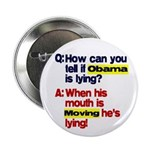 "Obama Lies 2.25"" Button (100 pack)"