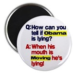 "Obama Lies 2.25"" Magnet (10 pack)"