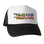 Obama Lies Trucker Hat