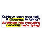 Obama Lies Bumper Sticker (50 pk)