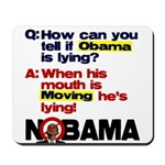 Obama Lies Mousepad