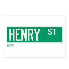 Henry Street in NY Postcards (Package of 8)