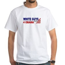 White Guys 4 Obama Shirt