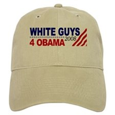 White Guys 4 Obama Baseball Cap