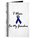 I Wear Blue For My Grandma 1 Journal