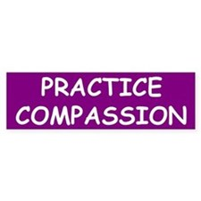 COMPASSION Bumper Bumper Sticker