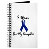 I Wear Blue For My Daughter 1 Journal