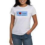 HAPPY 4OTH ANNIVERSARY TAYLOR Women's T-Shirt