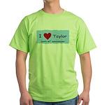 HAPPY 4OTH ANNIVERSARY TAYLOR Green T-Shirt