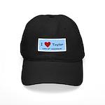 HAPPY 4OTH ANNIVERSARY TAYLOR Black Cap