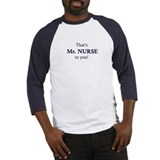 Mr. Nurse Baseball Jersey