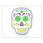 PSYCHEDELIC SKULL Small Poster