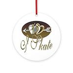 I Skate Keepsake (Round)