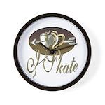I Skate Wall Clock