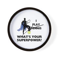 Tennis Superpower Wall Clock