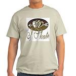 I Skate Ash Grey T-Shirt