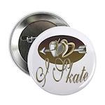I Skate Button