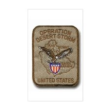 Operation Desert Storm... Rectangle Decal
