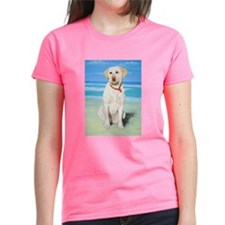 Unique Dogs yellow labrador Tee