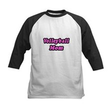 """Volleyball Mom (Pink)"" Tee"
