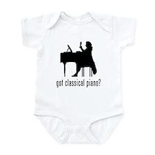 Classical Piano Infant Bodysuit