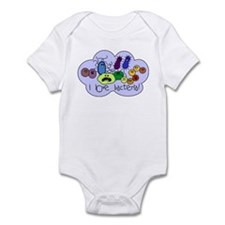 I Love Bacteria Infant Bodysuit