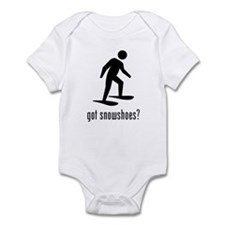 Snowshoes Infant Bodysuit