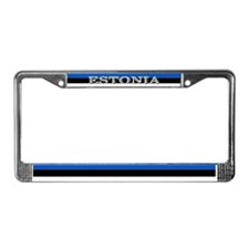 Estonia Estonian Flag License Plate Frame