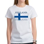 Finland Finish Flag Women's T-Shirt