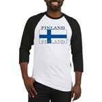 Finland Finish Flag Baseball Jersey