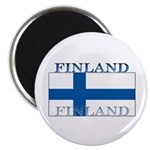 Finland Finish Flag Magnet