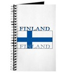Finland Finish Flag Journal