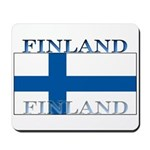 Finland Finish Flag Mousepad