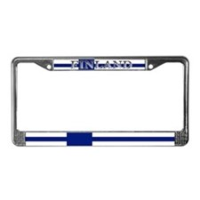 Finland Finish Flag License Plate Frame