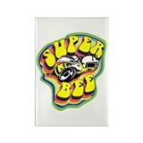 70'S Super Bee Rectangle Magnet