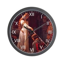 Nine Words Wall Clock