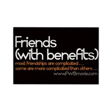 FRIENDS WITH BENEFITS Magnet