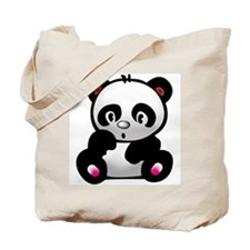 Cool Panda bears Tote Bag